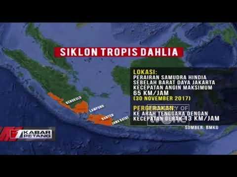 Ini Badai Siklon Baru yang di Rilis BMKG