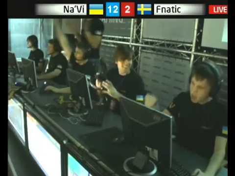 Na'Vi vs Fnatic Arbalet Cup 2010 (Edward -5HS USP) Stream de_tuscan