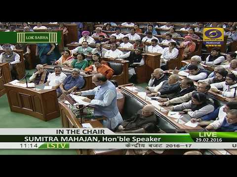 Union Budget 2016 -  LIVE from Parliament