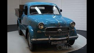 Fiat 1100 Pick-up 1957 -VIDEO- www.ERclassics.com