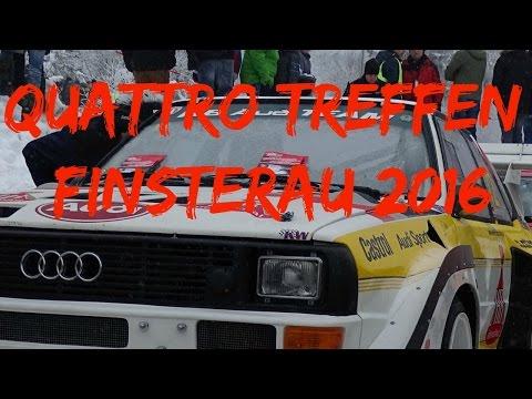 Quattro-Treffen Finsterau 2016  Drift, Quattro,Audi, Crash