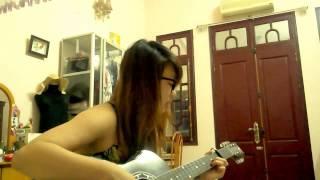 Tình Ca Phố (Quốc Bảo) - Guitar: Nguyệt Anh (Mip)