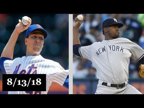 New York Mets vs New York Yankees Highlights || August 13, 2018