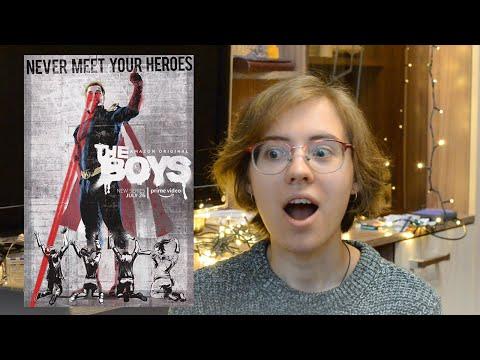 """Очень эмоциональная реакция на """"The Boys"""" 1 серия!"""