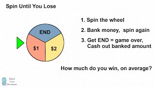 Spin Until You Lose - Probability Riddle