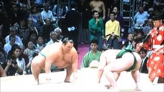 平成28年大相撲九州場所 11月21日 満員御礼 Sumo -Kyushu Basho.