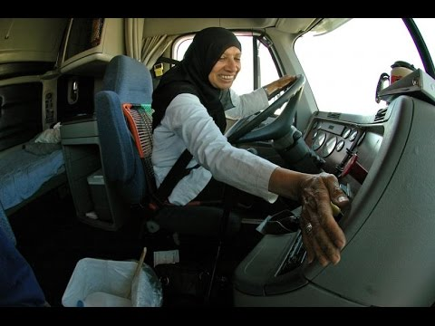 First Somali Truck Driver In USA  YouTube