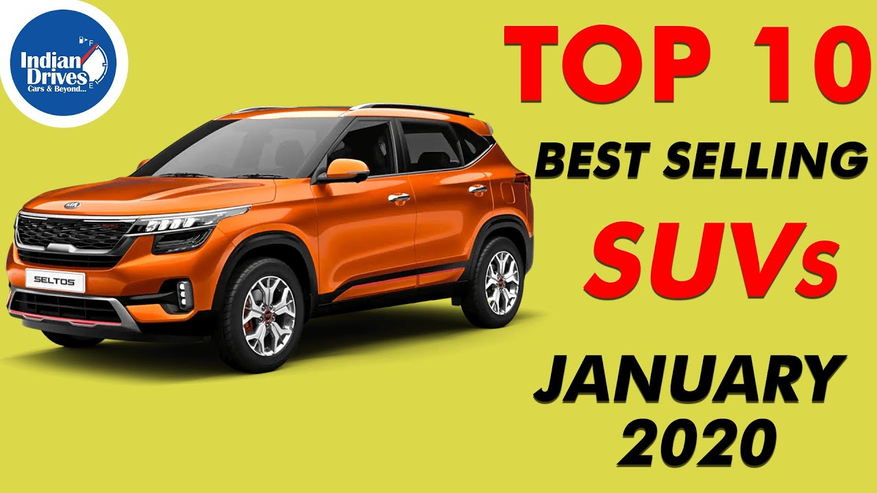 Top 10 Best Selling Suvs In The Month Of January 2020 Youtube