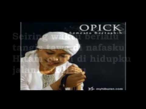 Opick & Amanda - Maha Melihat (Lirik)