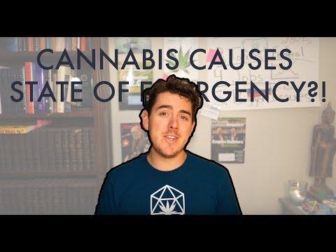 Nevada Declares State of Emergency due to Marijuana