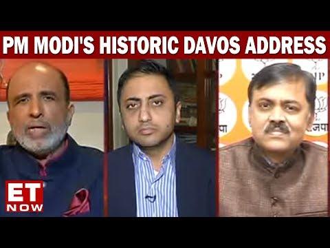 PM Modi's Historic Davos Address   Modi At Davos   India Development Debate