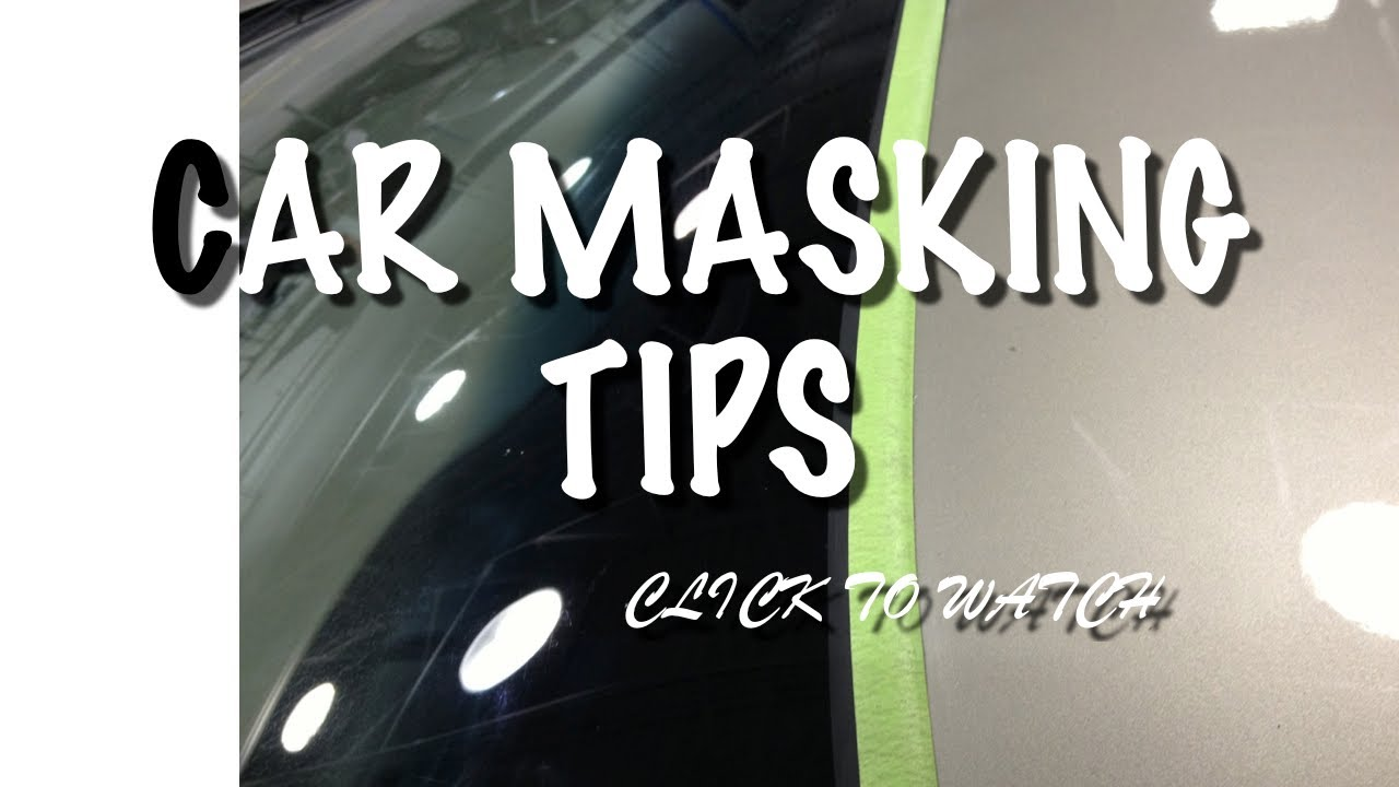 Diy car paint job masking tips how to mask windshield molding to diy car paint job masking tips how to mask windshield molding to prevent bridging or hard edges youtube solutioingenieria Choice Image