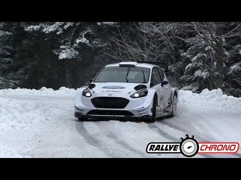 Test Snow Rallye Monte Carlo 2018 - Elfyn Evans - RallyeChrono