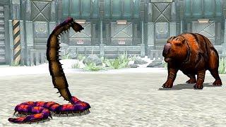 Max Level Arthropleura - Jurassic Park Builder GLACIER Tournament Android Gameplay HD