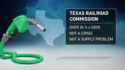 Texas. People Panic Buy. Create Gas Shortage.