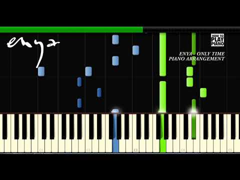 ENYA - ONLY TIME - SYNTHESIA (PIANO COVER)