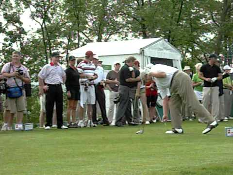 Nick Saban, Mal Moore, and Jay Barker Tee-Off at the Regions Charity Golf Pro-AM