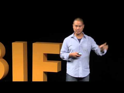 BIF 8: Tony Hsieh - Zappos Happiness on a Street Level