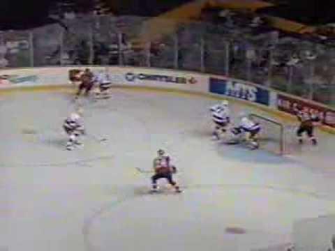 1996 3 22 Winnipeg Jets vs  Philadelphia Flyers