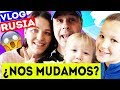 ¿NOS VAMOS DE ESPAÑA? ✈️ VLOG RUSIA | YIPPEE FAMILY