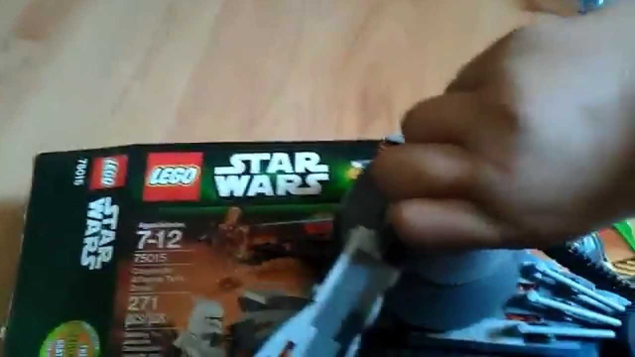 Lego Star Wars Corporate Alliance Tank Droid 75015 Youtube