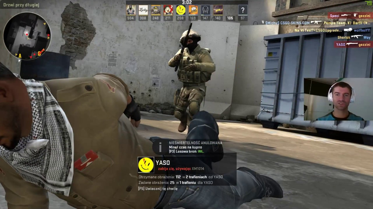 Stream CS:GO przez OBS na YouTube FullHD LTE T-Mobile TEST – Na Luzie :)