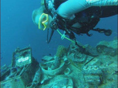 I found human remains inside a World War II shipwreck