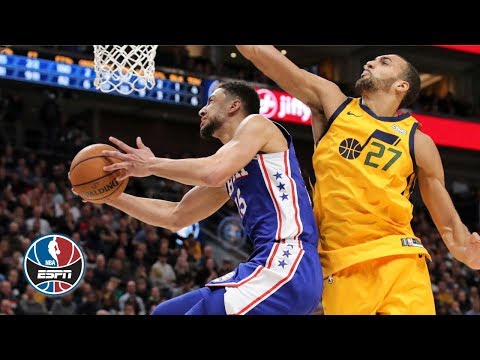Ben Simmons' triple-double lifts the 76ers vs. the Jazz   NBA Highlights