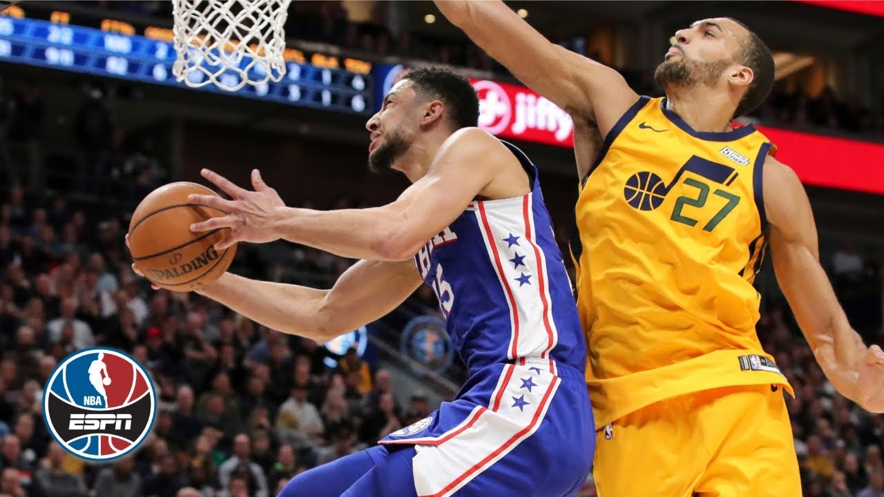 Ben Simmons Triple Double Lifts The 76ers Vs The Jazz