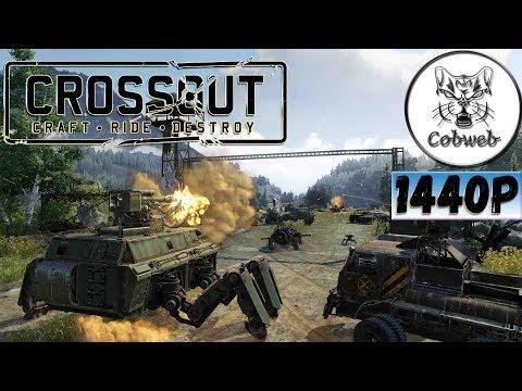 Crossout Обновление 0.9.110 в 1440p 2K