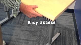 Cirrus Adjustable Height Tables ADA Compliant