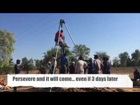 Manual Borehole Drilling Training in Malawi 2015