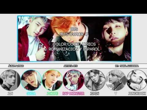 "BTS (방탄소년단) ""BTS Cypher 4"" [COLOR CODED] [ROM|SUBESPAÑOL LYRICS]"