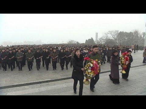 شاهد: كوريا الشمالية تحيي الذكرى السابعة لوفاة الزعيم الأب كيم جونغ إيل…  - نشر قبل 3 ساعة