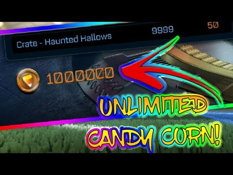 HOW TO GET FAST CANDY CORN | UNLIMITED CANDY CORN TUTORIAL | Rocket League