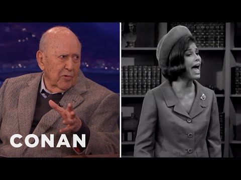 Carl Reiner Remembers Mary Tyler Moore   CONAN on TBS