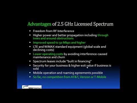 2.5 GHz Spectrum Lease Auction   Bid Preparation Demonstration Select Spectrum