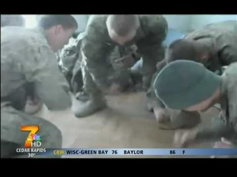 Interlude dance hits Afghanistan  KWWL 3272011