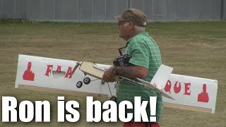 Ron and his RC planes are back on XJet