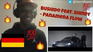 INSANE GERMAN SONG Bushido Feat Shindy Panamera Flow REACTION StormReacts
