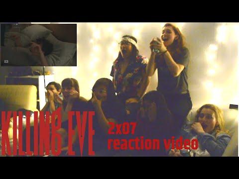 Killing Eve 2x07 reaction video - Wide Awake