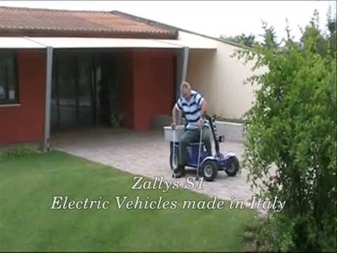 elektroscooter f r senioren zallys mod s1 youtube. Black Bedroom Furniture Sets. Home Design Ideas