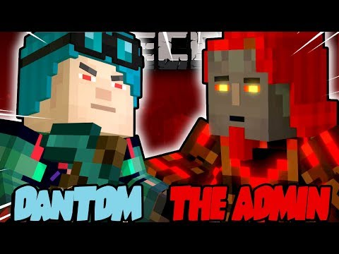 ADMIN DanTDM VS THE ADMIN!! - THE FINALE - Minecraft Story Mode: Episode 8