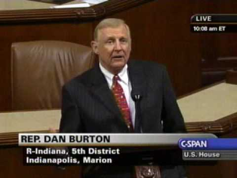 the contributions of dan burton in congress In 1970, burton was an unsuccessful candidate for the united states congress, losing to democratic incumbent andy jacobs the next term, he ran another unsuccessful campaign, losing in the republican primary to george hudnut.