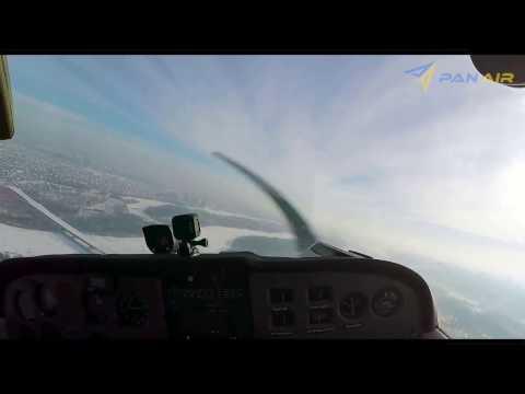 Мы любим летать зимой!