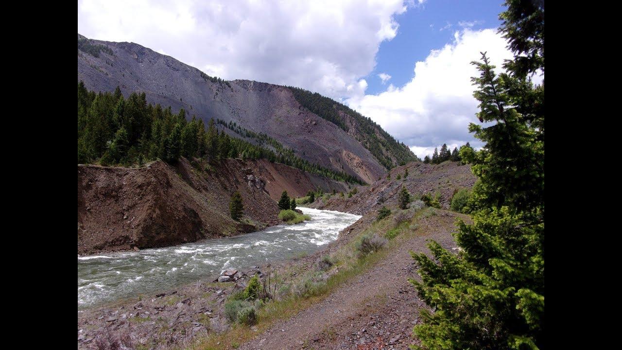 Forrest Fenn - The Rock Slide @ Earthquake Lake