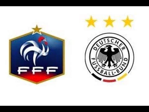 FRANCE VS GERMANY LIVE