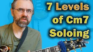 The 7 Levels Of Cm7 Dorian - Triads to Complete Voicing Arpeggios
