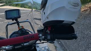 Campo Imperatore Rocca Calascio Castelluccio di Norcia Abruzzo in moto R 1200 GS Adventure