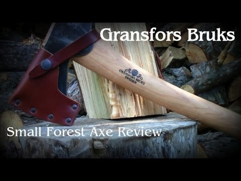 Gransfors Bruks - Small Forest Axe review and demonstration